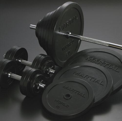 武术世界 (武术) 杠铃和哑铃 loverbarbelldumbbell 套 105 公斤