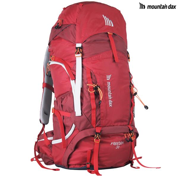 【在庫処分】mountain dax(マウンテンダックス) フリーダム30 DM-304-1602/バーガンディ【ザック/リュックサック/30L/登山/トレッキング/ハイキング/山岳/テント泊】