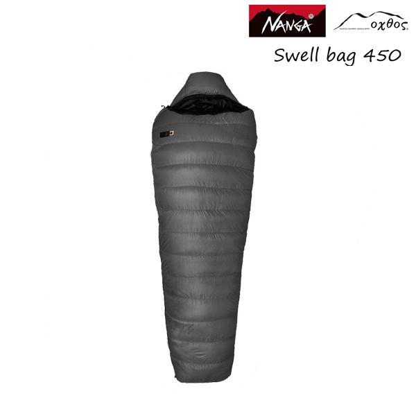 【ロング】NANGA×oxtos スウェル450【シュラフ/寝袋/ダウン/撥水/UDD】