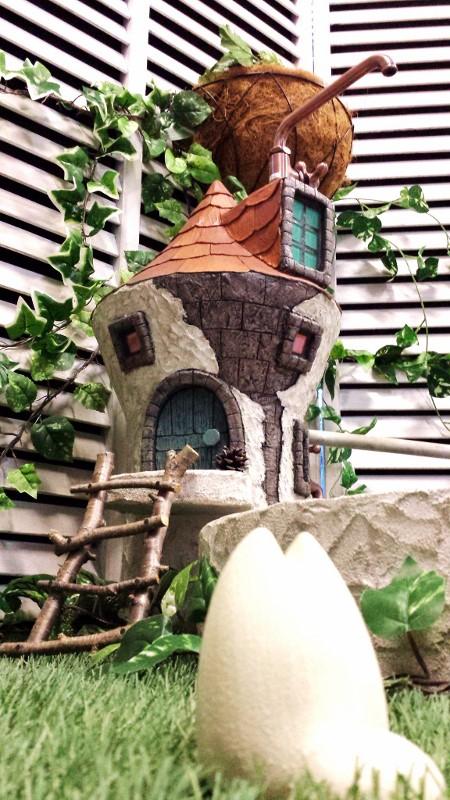 立水栓 水栓柱 立水栓セット送料無料【とんがり屋根の立水栓&シンクセット】庭 水道 外水道 水受け ガーデンパン