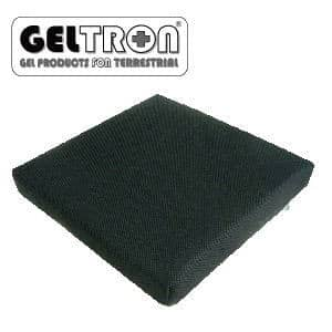 車椅子用クッション ジェルトロン 3D立体クッション Sサイズ【GELTRON 高通気フォーム 二層一体構造ジェル】【送料無料】