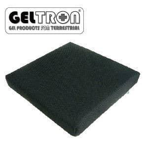 車椅子用クッション ジェルトロン 3D立体クッション Mサイズ【GELTRON 高通気フォーム 二層一体構造ジェル】【送料無料】