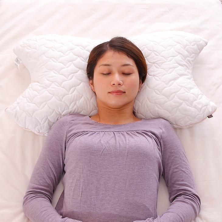 枕头 | 樱花护垫柔软的枕头 (身体 + 枕套设置) 76 × 46 厘米