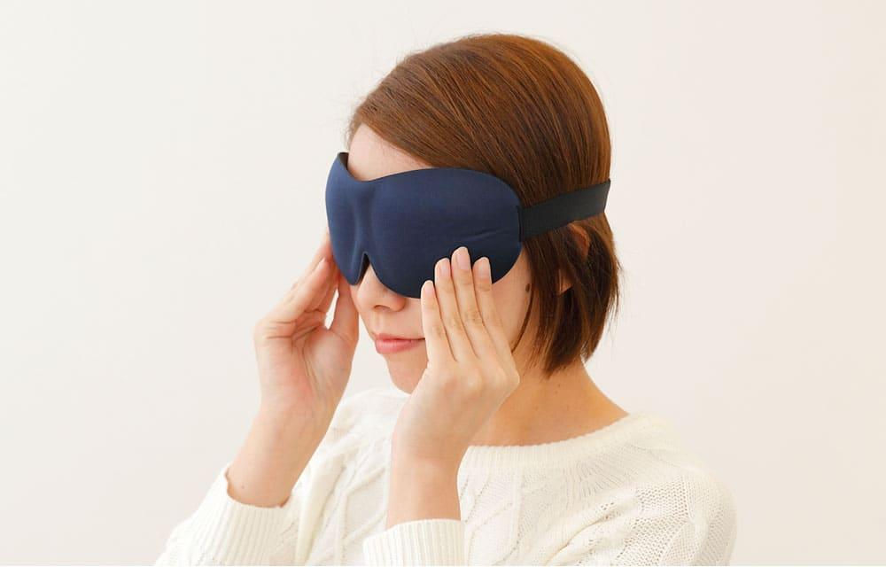iSleep 3D EYE MASK(アイスリープ 3Dアイマスク)フリーサイズ(男女兼用) 「遮光性×開放感」を実現した立体型アイマスク 【アイピロー 目枕 目まくら アイマスク 旅行 睡眠 睡眠グッズ 安眠 就寝 疲れ目 遮光 フライト 仮眠】【母の日】【父の日】