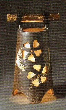 【信楽焼】 さくら灯り おしゃれ/陶器/送料無料/和/インテリア/人気/売れ筋/プレゼント/お祝い】