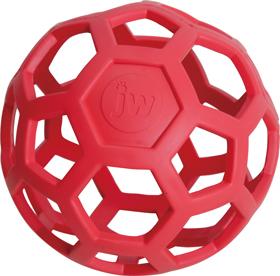 伸縮性のあるナチュラルラバーでできたソフトで軽い安全なボール セール価格 ホーリーローラーボール 犬のおもちゃ 安売り