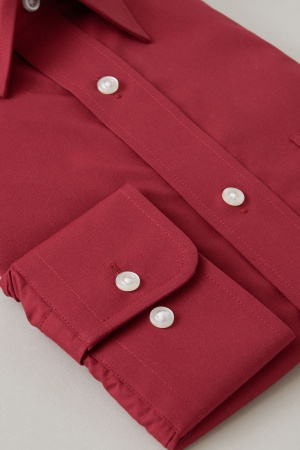 4 Form stable shirt shape memory shirt color mens dress shirt long sleeve shirt long sleeve Y shirt regular fit uniform red S M L LL 3 l l big size made in Japan OZIE gift Rakuten business shirt shirt fall winter men [00002046]