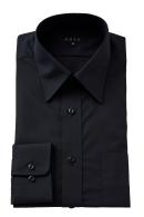 形態安定・黒シャツ