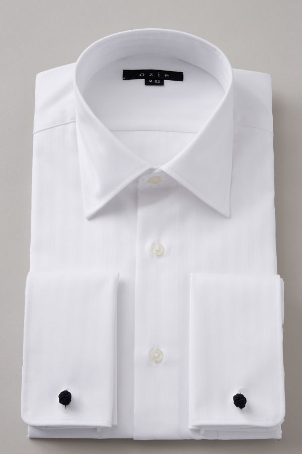 bfc3d31a2f French cuff shirt-dress shirt long sleeves shirt slim semi-wide color  cotton 100% form white business shirt cuff shirt men | becoming stable  French ...
