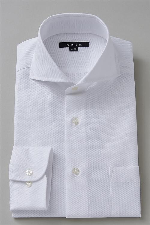 送料無料 ドレスシャツ 長袖 | ホリゾンタルカラー シャツ メンズ ワイシャツ おしゃれ 高級 カッタウェイ ビジネス 綿100% ホリゾンタル yシャツ トールサイズ カッターシャツ スリム ビジネスシャツ トール 白 スーツ メンズドレスシャツ クールビズ 父の日 夏