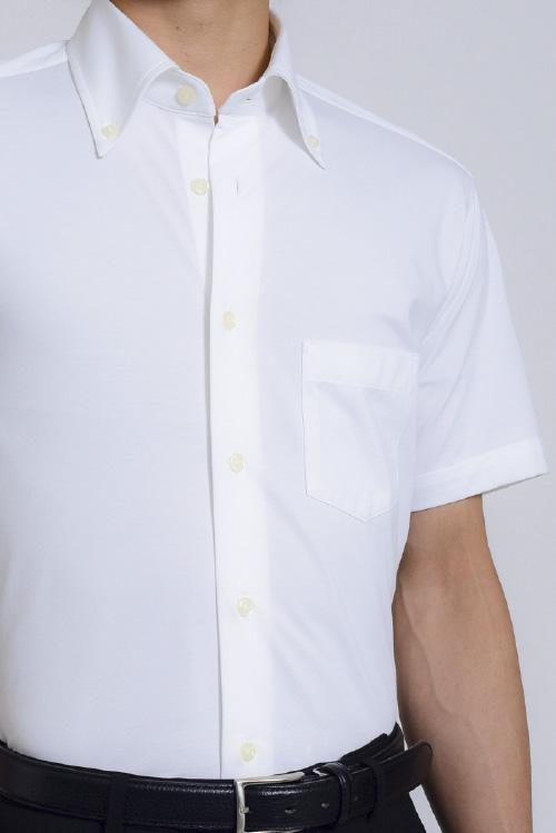長袖ワイシャツ ピケ coolmax ボタンダウンシャツ 長袖シャツ ビズポロ ギフト スリム メンズ サックスブルー Yシャツ ニットシャツ イージーケア クールマックス オフィス 青 夏 ビジネス タイトフィット ドレスシャツ 無地 おしゃれ クールビズ| シャツ ボタンダウン