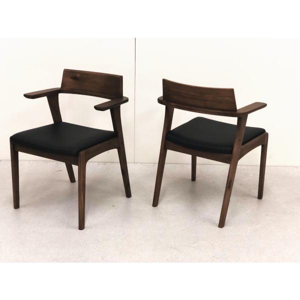 【送料無料】2脚セット かっこいい大人のダイニングに ダイニングチェア プラハ チェア 北欧 カフェ ブラウン 木製  人気 セール ナチュラル 椅子 チェア いす おしゃれ 安い 新生活応援