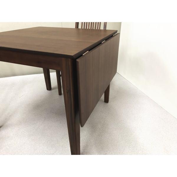 伸長式テーブル80~115 用途にあわせてテーブルの大きさを変えれる ダイニングテーブル テーブル 木製 ブラウン ファラオ 北欧