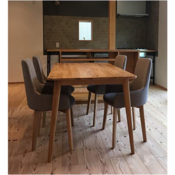 ダイニングテーブルセット 4人掛け 送料無料 5点セット ダイニングテーブル 食卓テーブル ダイニングセット テーブルセット ダイニングチェア 椅子 4脚セット おしゃれ 北欧 モダン ミーミル ファブリック