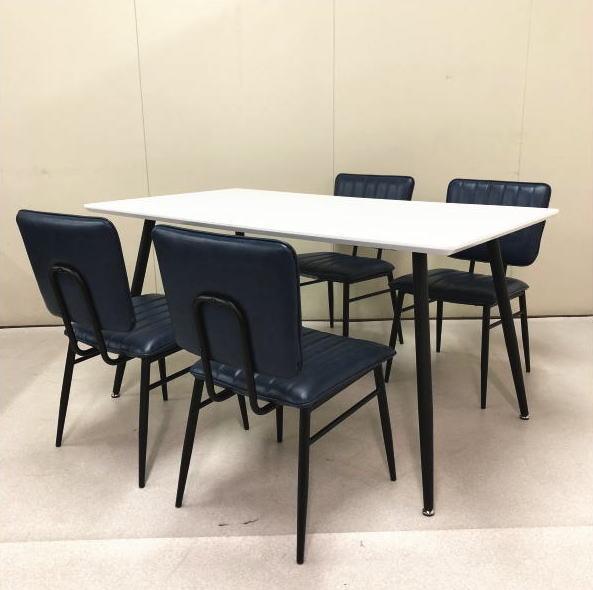 人気 セール ダイニングセット 5点セット ナチュラル 木製 4人掛けタイプ 4人用ダイニングセット 食堂テーブルセット ダイニング5点セット カフェテーブルセット 四人掛け 四人用 グラスゴー 西海岸 レトロ クーポン