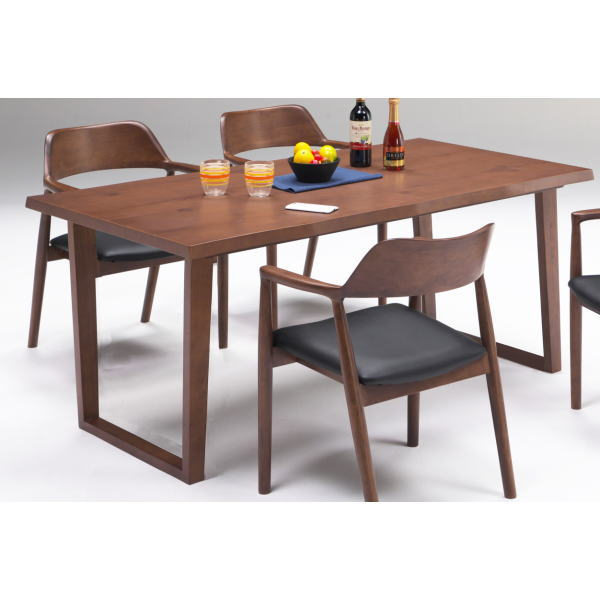 テーブル ダイニングテーブル 4人用ダイニング カフェ風 北欧風 単品 送料無料 ブラウン 西海岸 ヴィンテージ風 160 人気 セール おしゃれ ジュピター