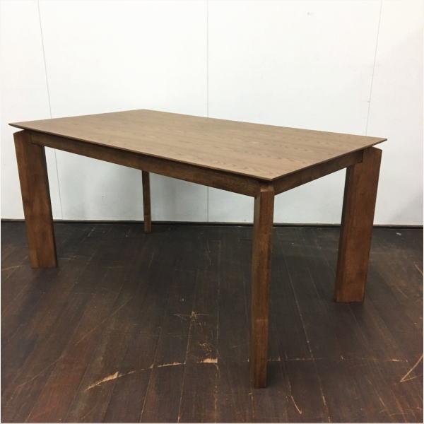 テーブル ダイニングテーブル 4人用ダイニング カフェ風 北欧風 ミシュラン ダイニングテーブル 単品 送料無料 ブラウン 西海岸 ヴィンテージ風 140 ナチュラル エレガント 木製