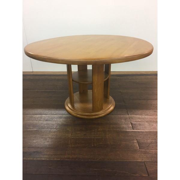 送料無料 幅120 丸テーブル ダイニングテーブル 円卓 ノッティー クーポン お買い得 ブラウン ナチュラル 木製 セール おしゃれ 安い セール 送料無料 お家時間