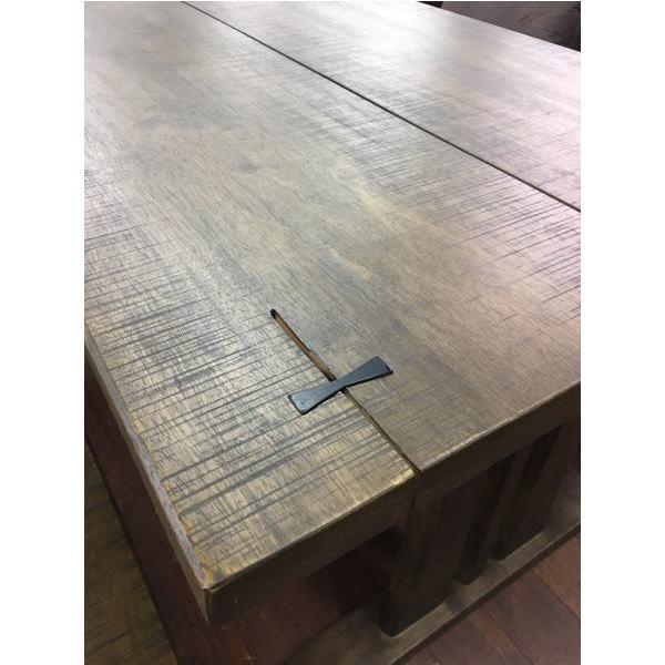 クーポン テーブル ダイニングテーブル 郷 6人 6掛け 木製 カフェ 190 新生活 木製 ブラウン ナチュラル 和風 アジアン 送料無料 人気 セール