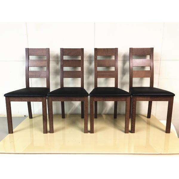 4脚セット ダイニングチェア 木製 ダイニング チェア リビングチェア 北欧 ダイニングチェアー 椅子 食卓椅子 いす イス 木脚 天然木 おしゃれ ダイニング用 四脚セット クルーズ 送料無料 おしゃれ