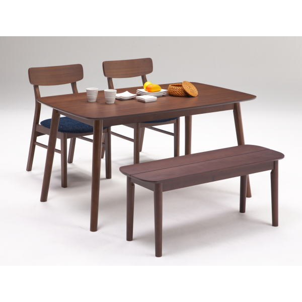 ダイニングテーブルセット 北欧 おしゃれ ベンチ テーブル 最安値 ダイニングセット 4人 ダイニングチェア 贈物 和モダン 和風 ダイニングテーブル 送料無料 4人掛け モダン レシピ 食卓 ブラウン 無垢 ナチュラル 食卓テーブル