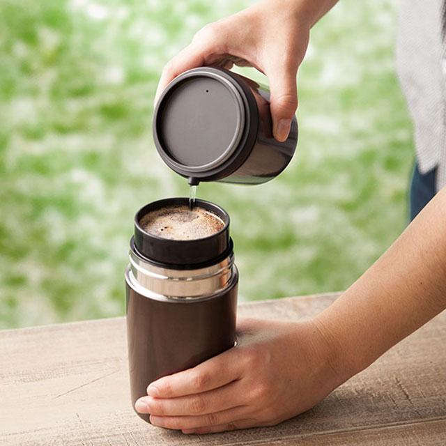 ☆ 真空咖啡杯磨与所有在 1 咖啡研磨机滴头滴灌杯手动真空双杯洗好的新鲜手磨床多功能一体乐天购物生活陶瓷咖啡磨床温暖和乐趣城市