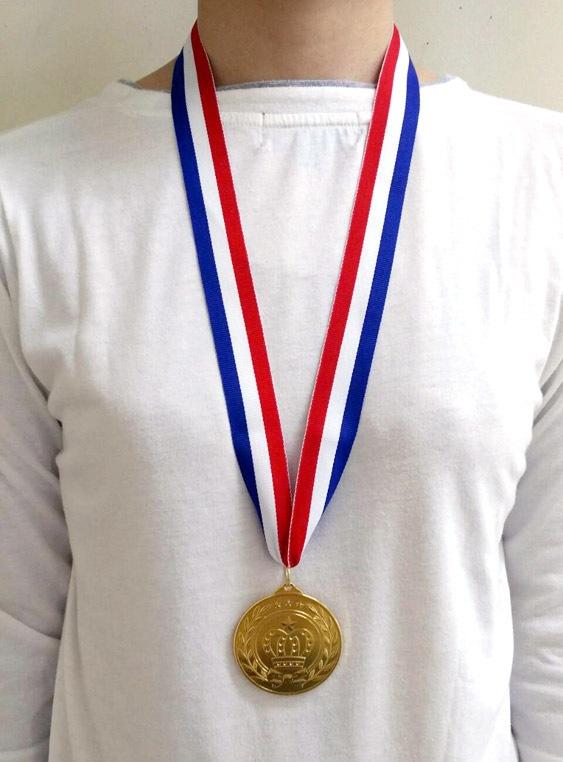 <title>1位 優勝メダル ゴールド メダル 大会 大注目 運動会 イベント 表彰式 パーティーグッズ ___ 6点までメール便も可能 NEW金メダル 1個入 第1位 ゴールドメダル 体育祭 忘年会 新年会 K-3507_104010</title>