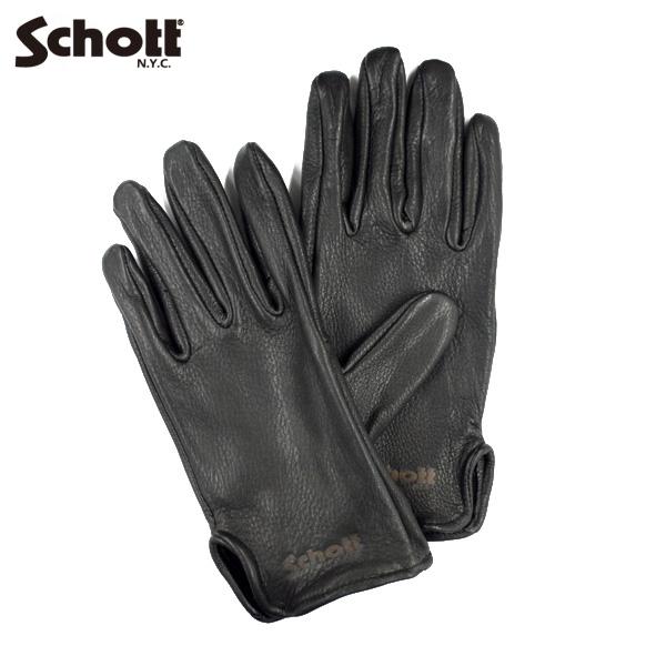 Schott DEER SKIN GLOVE(ディアスキングローブ・鹿革)