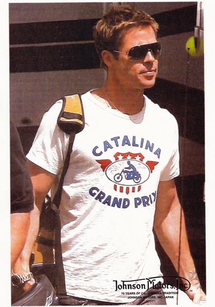詹森馬達卡塔利娜 GP 2015 (Johnson 電動機 T 恤卡塔利娜盛大 Prix 2015 顏色) P16Sep15