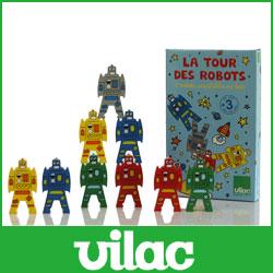 VILAC (比拉克) 木制平衡遊戲 / 機器人 VL2171。