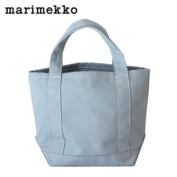 marimekko ( マリメッコ ) Seidi トートバッグ ミニ / ライトブルー 【あす楽】