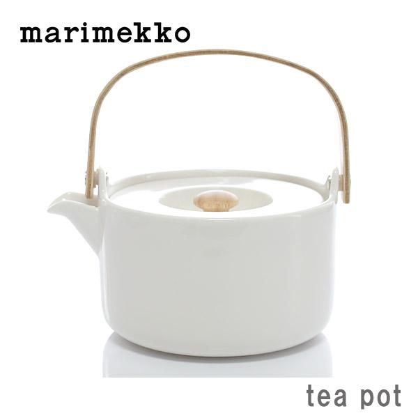 marimekko ( マリメッコ ) OIVA Tea pot ( オイバ ティーポット )/ ホワイト.