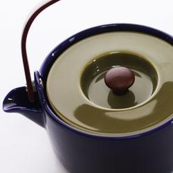 Marimekko (Marimekko) HENNIKA Tea pot (henniker teapot) and blue-green.