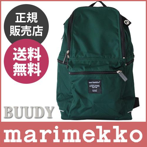 """帆布背包/福里斯特marimekko(marimekko)""""Buddy""""(巴迪)绿色。"""