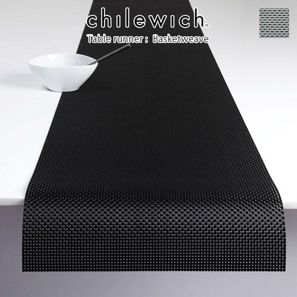 chilewich ( チルウィッチ ) テーブルランナー バスケットウィーブ BASKETWEAVE / 全2色 【 正規販売店 】.