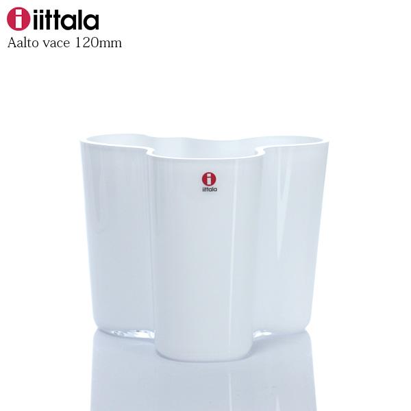 iittala ( イッタラ ) フラワーベース 120mm / ホワイトAlvar Aalto Collection ( アルヴァ ・ アアルト コレクション ) 【 正規販売店 】.