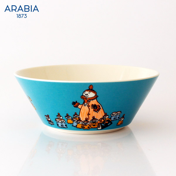 ARABIA ( アラビア ) MOOMIN ( ムーミン ) ボウル 15cm / ミムラ夫人 【 正規販売店 】.