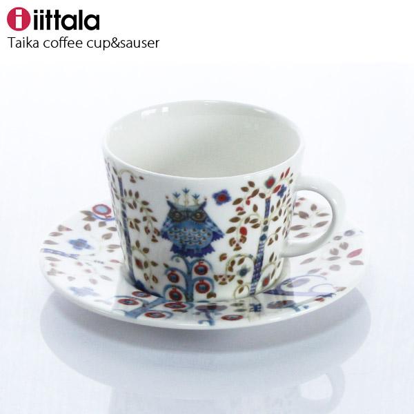 iittala ( イッタラ ) Taika ( タイカ ) コーヒーカップ & ソーサー / ホワイト ( 一客 ) 【 正規販売店 】.