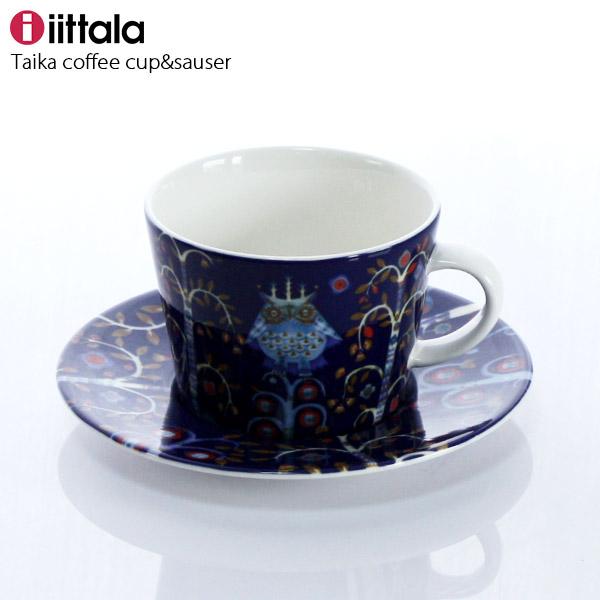 iittala ( イッタラ ) Taika ( タイカ ) コーヒーカップ & ソーサー / ブルー ( 一客 ) 【 正規販売店 】.