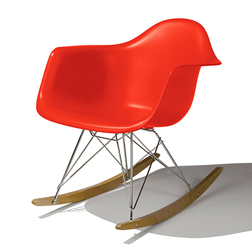 Eames Shell Chair イームズ チェア  Arm Chair(RAR) /レッド.