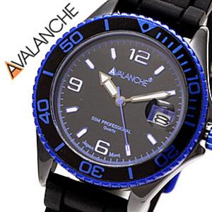 アバランチ腕時計 AVALANCHE時計 AVALANCHE 腕時計 アバランチ 時計 アヴァランチ デラックス D-LUX メンズ レディース ブラック AV-1017CER-BU カラフル スポーツ カジュアル 生活 防水 送料無料 プレゼント ギフト 祝い