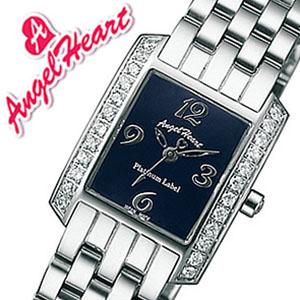 エンジェルハート腕時計 [Angel Heart時計](Angel Heart 腕時計 エンジェルハート 時計 ) プラチナムレーベル サムシングブルー レディース時計 ネイビー PT20NSK ジルコニア シルバー [かわいい ][バーゲン プレゼント ギフト][おしゃれ 腕時計]