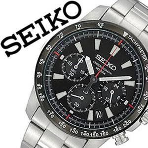 [当日出荷] 【延長保証対象】セイコー 腕時計 メンズ SEIKO 時計 セイコー 時計 セイコー 海外モデル セイコー 逆輸入 海外セイコー セイコー時計 SSB031PC SSB031P1 ブラック プレゼント ギフト 定番 防水 送料無料