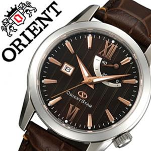 【5年保証対象】オリエント腕時計 ORIENT時計 ORIENT 腕時計 オリエント 時計 オリエント スター パワーリザーブ Orient Star メンズ時計 ブラウン WZ0301EL 送料無料 プレゼント ギフト 祝い