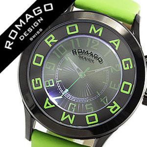 ロマゴ 時計 ROMAGO 時計 ロマゴ 腕時計 ROMAGO 腕時計 ロマゴデザイン ROMAGODESIGN ロマゴ デザイン ROMAGO DESIGN ロマゴデザイン腕時計 メンズ レディース 男女兼用 グリーン RM015-0162ST-LUGR おしゃれ グリーン 人気 新作 送料無料