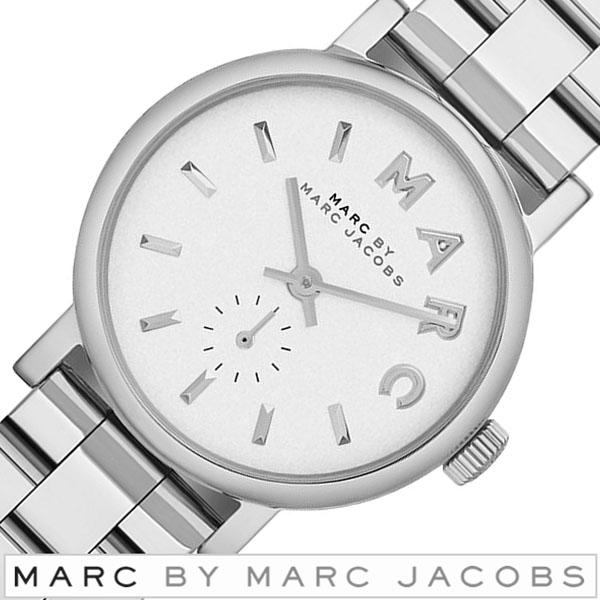 マークバイマークジェイコブス腕時計 [MARC BYMARCJACOBS時計]( MARC BY MARCJACOBS 腕時計 マーク バイ マークジェイコブス 時計 ) ベイカーメンズ レディース ユニセックス 男女兼用 シルバー MBM3246 [スモール 28mm][バーゲン プレゼント ギフト]