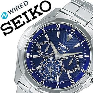 【5年保証対象】セイコー腕時計 SEIKO時計 SEIKO 腕時計 セイコー 時計 ワイアード ニュースタンダード WIRED NEW STANDARD メンズ ディープブルー AGAD033 スタンダード 使いやすい お洒落 安心 送料無料 プレゼント 祝い