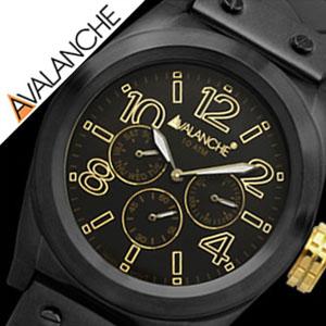 [当日出荷] アヴァランチ腕時計 AVALANCHE時計 AVALANCHE 腕時計 アバランチ 時計 ロイヤル Royal メンズ レディース ユニセックス 男女兼用 ブラック AV-1027-BKBK アナログ おしゃれ カジュアル かわいい 送料無料 プレゼント ギフト 祝い