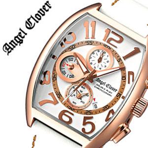 【5年保証対象】エンジェルクローバー 時計 AngelClover 時計 エンジェル クローバー 腕時計 Angel Clover 腕時計 エンジェルクローバー時計 AngelClover時計 エンジェルクローバー腕時計 ダブル プレイ メンズ ホワイト ピンクゴールド DP38PWH-WH 送料無料