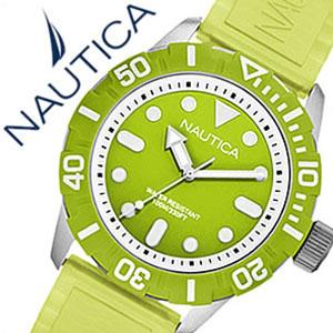 【5年保証対象】ノーティカ腕時計 NAUTICA時計 NAUTICA 腕時計 ノーティカ 時計 ジェリー スポーツ シー オブ カラー NSR100 SPORT SEA OF COLOR メンズ レディース グリーン ホワイト A09605G おしゃれ 通販 アメリカン ブランド 送料無料